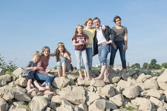 """Katharina Mayer: aus """"familia"""", Familie Geisel, 2016"""