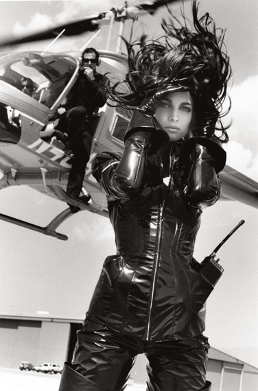 Stephanie - Spy Story 1, Van Nuys, 1990© Herb Ritts Foundation, Courtesy of Hamiltons Gallery