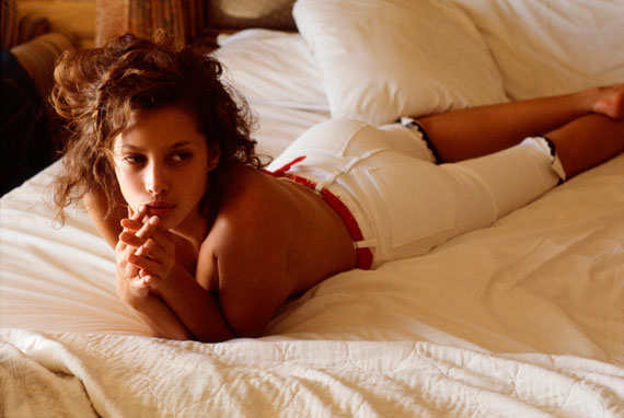 Denis Piel. Christy Turlington. Laguna Beach CA, 1987. Vogue USA