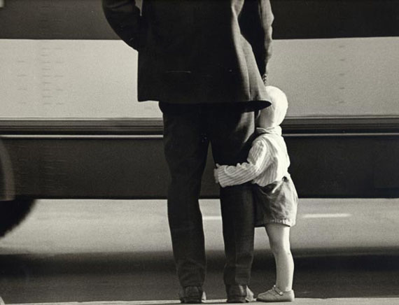 Igor Gnevashev. Father and son. 1960th.