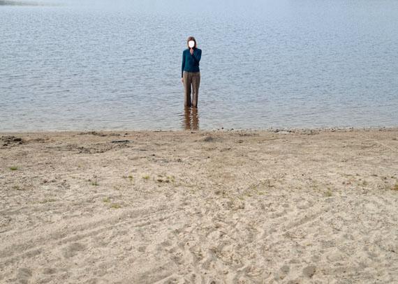 Elina Brotherus: Mirror Piece, aus der Serie Carpe Fucking Diem, 2014 © Elina Brotherus