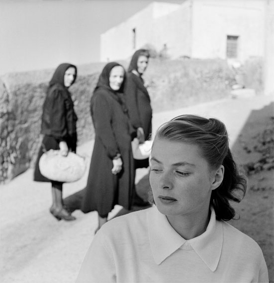 Ingrid Bergman at Stromboli, Stromboli, Italy, 1949
