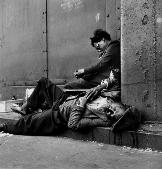 Homeless Couple, Harlem, New York, 1948