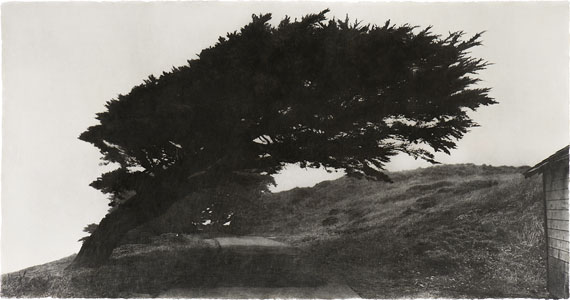 "Jungjin Lee: ""Wind"" 2007, Photo Emulsion on Mulberry Paper, Mounted on Mulberry Paper, 73,7 x 144,8 cm © Jungjin Lee"