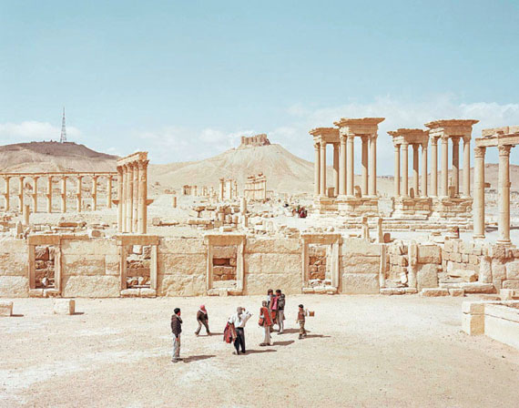 Alfred Seiland, Palmyra, Tadmor, Syria, 2011, C-Print, Edition: 6, 120 x 152,5 cm