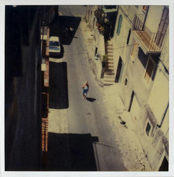 Andrey Tarkovsky. Larissa Tarkovskaya, San Gregorio, 14 July 1984, from Polaroid Portfolio, printed in 2007 © Andrey A. Tarkovsky
