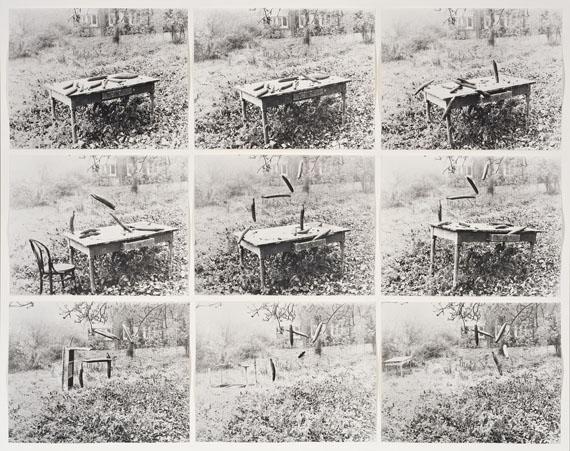 Johannes Brus: Gurkenparty (Detail), 1972/1999
