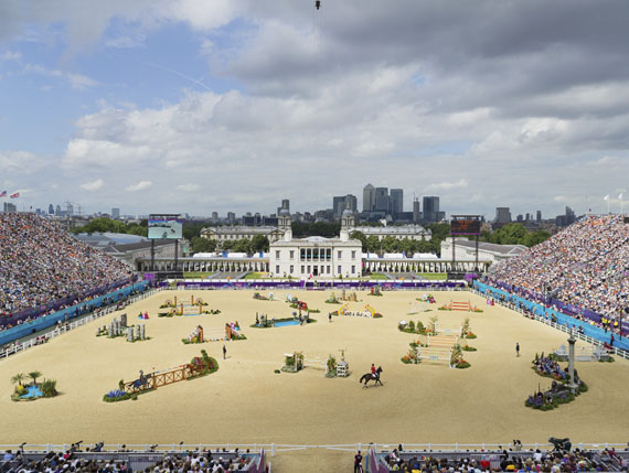 Simon Roberts: Olymplad 02, Equestrian Jumping Individual, Greenwich Park, London, 2012Courtesy Flowers Gallery London