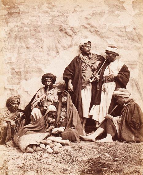 195. Otto Schoefft (et Carlo Naya) Égypte, 1876. Le Caire Pittoresque. Important set of 40 albumen prints.