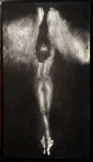 Alvin BoothNocturne #150211292015160 x 90 cmDigital print, Graphite, LED's