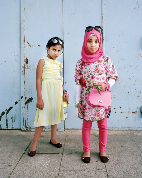 Darine 7 and Dania 8, Beirut Lebanon, from the series L'enfant-femme, 2014, © Rania Matar, courtesy exhibition Photographing the Female