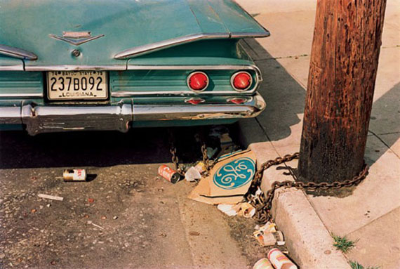 William Eggleston, Louisiana, 1971 – 1974, from the series Los Alamos, 1965 - 1974 © Eggleston Artistic Trust / Courtesy David Zwirner, New York/London