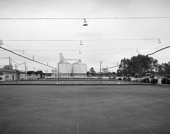 ©  Jane Brown - Bowling club, wheat belt, Victoria, 2014 /16