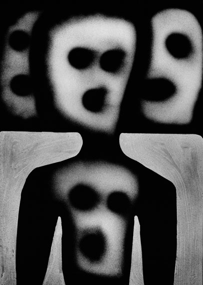 Haunted, 2012 © Roger Ballen, Courtesy Hamiltons Gallery, London