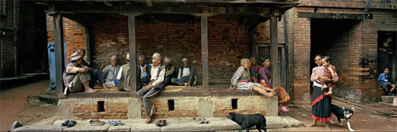 Klaus Mettig: Kathmandu 2005. Foto: Klaus Mettig © VG Bild-Kunst, Bonn 2017