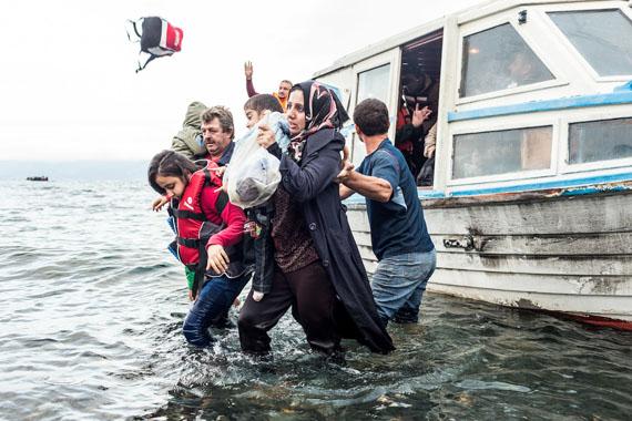 Arturas Morozovas, Syrian migrants. Lesbos Island, Greece, 2016