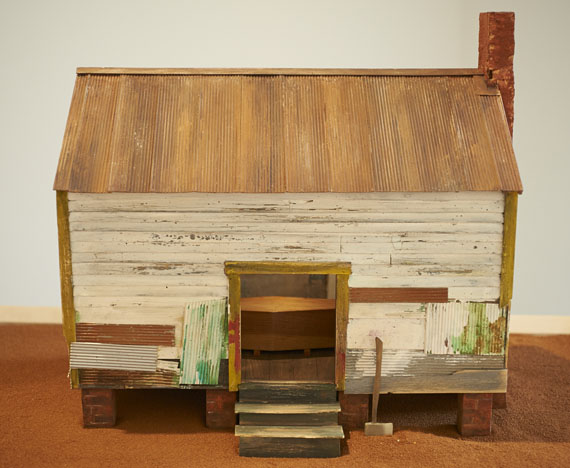 William ChristenberryChina Grove Memory, 1980© Pace/MacGill Gallery, New York, courtesy of Galerie Julian Sander