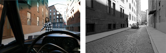 Barbara ProbstExposure #117.08: N.Y.C., Collister & Hubert Street, 11.03.15, 2:05 p.m., 2015Ultrachrome ink on cotton paper2 parts: 71 x 107 cm/ 28 x 42 inches Edition of 5