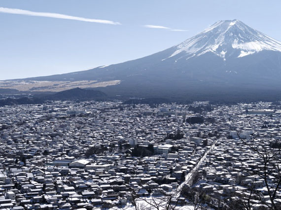 Raoul Ries: Thirty-Six Views of Mount Fuji 36 (Asamamachi, Arakura), 2015-2016