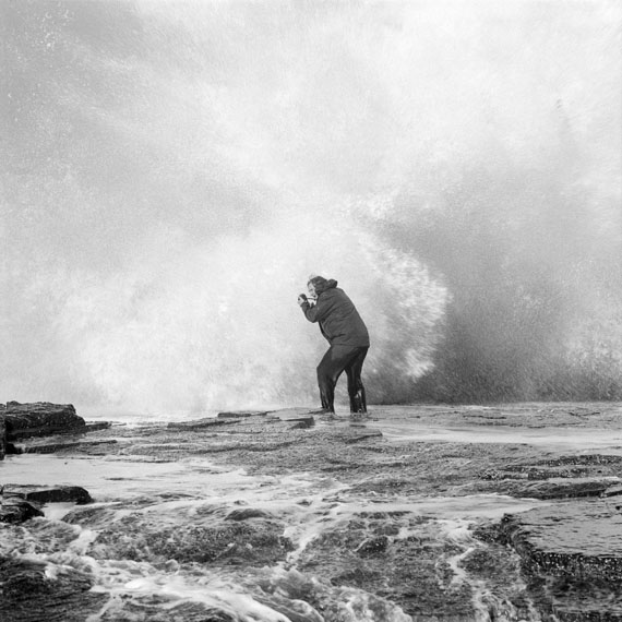Derek Kreckler: Untitled #2 Big Wave Hunting, 2011, Silver Gelatin Print, 50 cm x 50 cm, Edition of 10+2