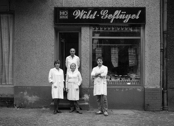 Wild und Geflägel, HO Fleischerei, 1986 © Harf Zimmermann