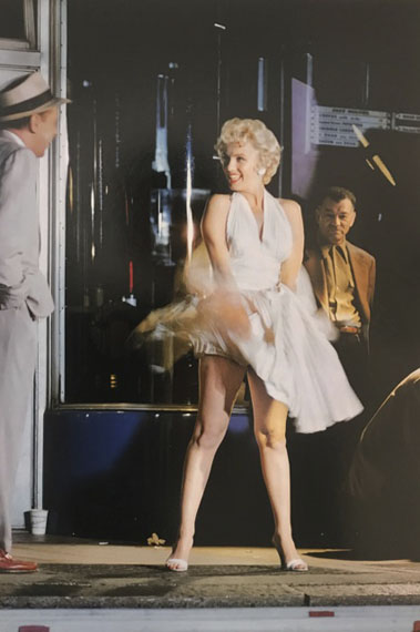 "Elliott Erwitt: Marilyn Monroe on the Set of ""The Seven Year Itch"", 1954