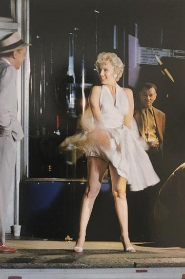 "Elliott Erwitt: Marilyn Monroe on the Set of ""The Seven Year Itch"", 1954Courtesy in focus Galerie, Köln"