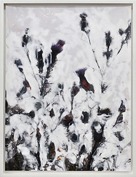 Crystal (No. 4), 2011, Sanded Print, acrylic, unique piece, 40 x 30 cm, © Elmar Vestner