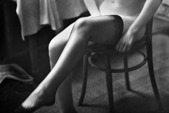 The Eye of Love, Stockings (No. 531), Paris, Baryt Print, 30 x 40 cm, Edition of 7 & 2 AP, © René Groebli