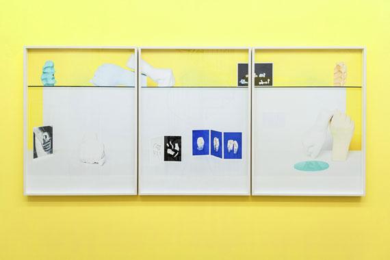 "Samuel Henne""untitled (shelf triptych)"", aus ""elusive shape""3 Fine Art Prints, je 120 x 90 cm, 2016"