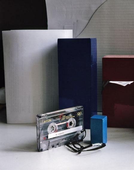 Peter PuklusTDK casette with songs by PG Harvey, 2013, Handbook to the Stars40 x 50 cm, C-Print© Peter Puklus