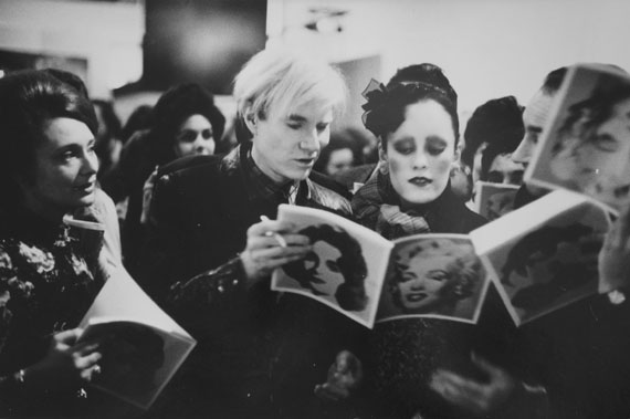 Andy Warhol, TATE Gallery London, 1971 © Neil Libbert, Courtesy Michael Hoppen Gallery