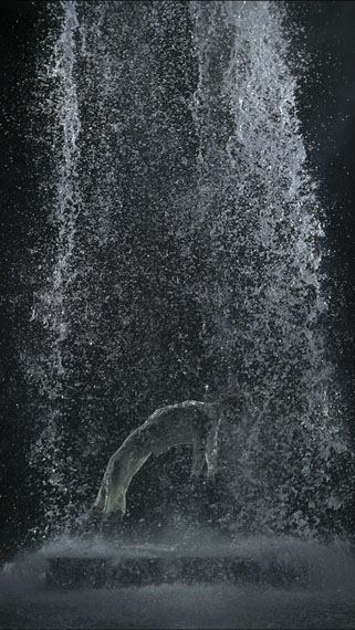 Bill Viola: Tristan's Ascension (The Sound of a Mountain Under a Waterfall), 2005 