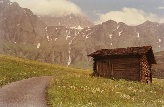 Erik Arkadi Seth, aus der Serie Alps / Schweizer Alpen, 2017 © Erik Arkadi Seth