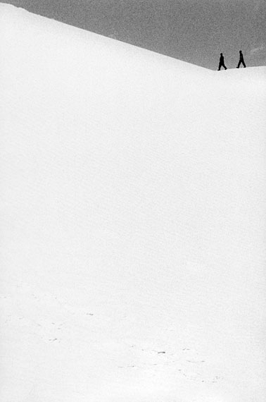 Renato D'Agostin: 7439, White Sands, New Mexico 2Courtesy Galerie Thierry Bigaignon