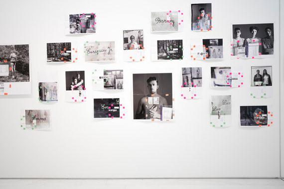 Moyra Davey, Portrait/Landscape, 2017, 70 C-prints, installation view, EMST—National Museum of Contemporary Art, Athens, documenta 14, photo: Mathias Völzke