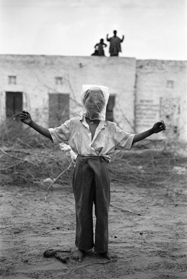 "Gauri Gill, Jogiyon ka Dera, from the series ""Notes from the Desert"" (1999– ), gelatin silver print"