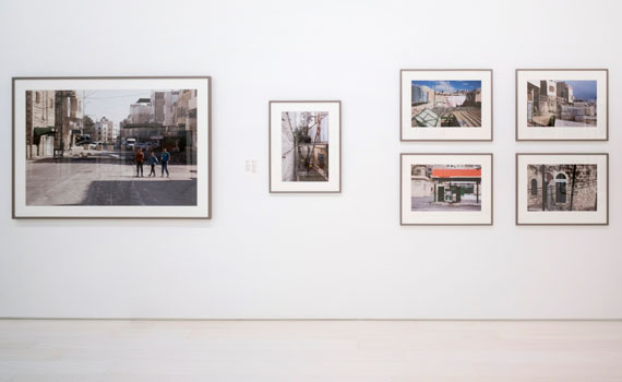 Ahlam Shibli, Occupation, Al Khalil, Palestine, 2016–17, installation view, EMST—National Museum of Contemporary Art, Athens, documenta 14, photo: Mathias Völzke