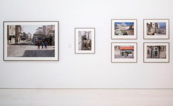 Ahlam Shibli, Occupation, Al Khalil, Palestine, 2016–17, installation view, EMST—National Museum of Contemporary Art, Athens, documenta 14, photo: Mathias Völzke