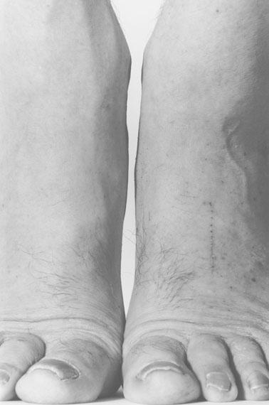 John CoplansSelf Portrait, Feet, Frontal, 1984Gelatin Silver Print 61.0 × 51.0 cm, 24.0 × 20.1 in