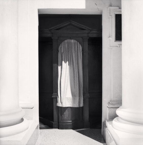 Confessional, Study 21, Chiesa San Lorenzo in Sant'Agostino, Reggio Emilia, Italy. 2007© Michael Kenna