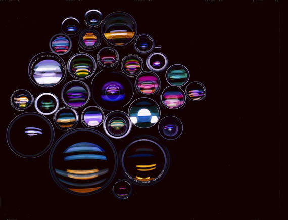 o. T. (Nikonobjektive), 1984, Hildmann Simon Rempen & Schmitz © Hans Hansen