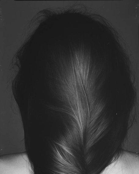 o. T. (Haare), 1987, freie Arbeit © Hans Hansen