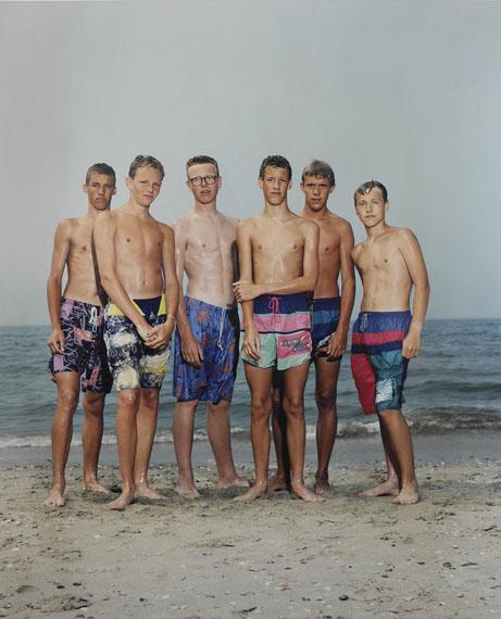 Rineke DijkstraCastricum aan Zee, The Netherlands, 1992C-PrintSprengel Museum Hannover© Rineke Dijkstra