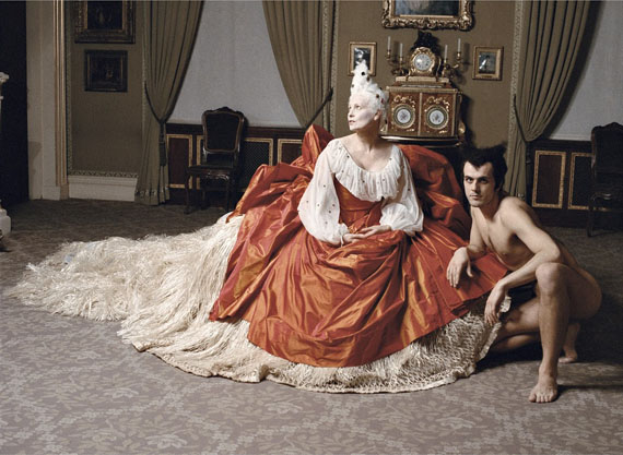 Jean-Marie Périer. Vivienne Westwood. London, September 1994© Jean-Marie Périer / Photo12