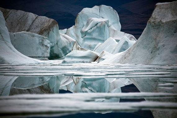 Sebastian Copeland. Icefloe VII, Ellesmere Island, Canadian Arctic, 2008