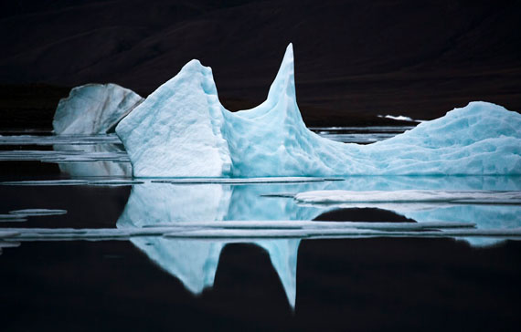 Sebastian Copeland. Iceberg XI, Ellesmere Island, Canadian Arctic, 2008
