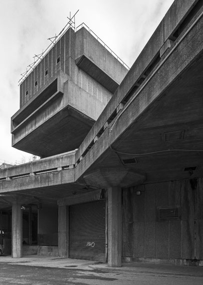 Simon Phipps: Hayward Gallery, South Bank, London, 1968Architekt: Norman Engleback, Dennis Crompton, Warren Chalk and Ron Herron for the LCC © Simon Phipps