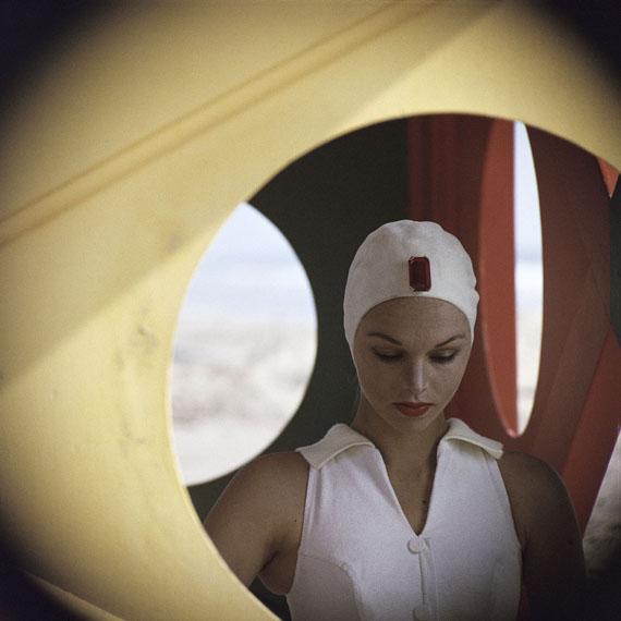 Gordon Parks: Jeweled Cap, Malibu, California, 1958Courtesy of and © The Gordon Parks Foundation