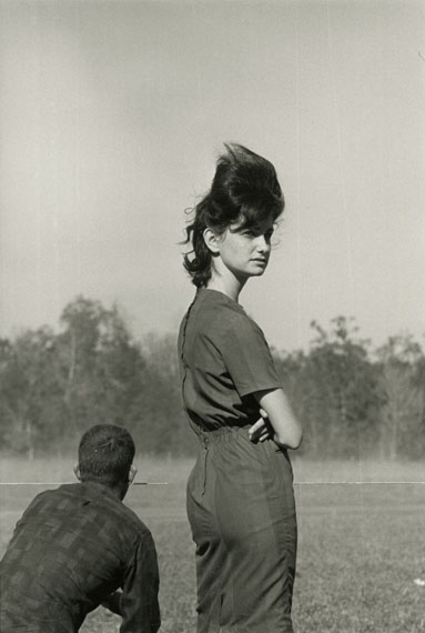 Woman at a Race in Prairieville, Louisiana, 1964© Danny Lyon / Courtesy Gavin Brown's Enterprise